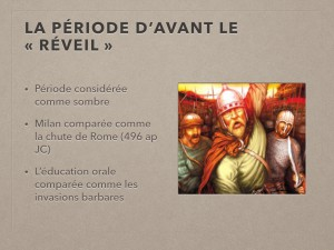 Extrait projection